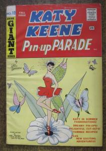 KATY KEENE PIN-UP PARADE #12 (1960) VERY GOOD