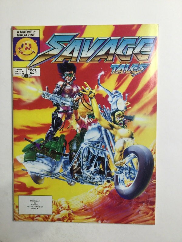 Savage Tales 1 October Magazine Near Mint Nm Marvel Magazine