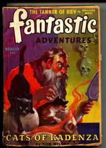 Fantastic Adventures-Pulp-10/1944-Don Wilcox-Wallace West