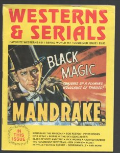Westerns & Serials #31 1989-Mandrake The Magician cover-Paramount Westerns-Co...