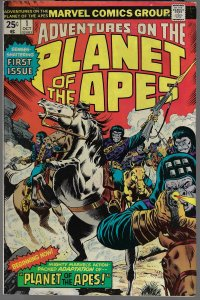 Adventures on the Planet of the Apes #1 (Marvel, 1975)