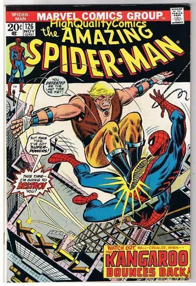 SPIDER-MAN #126, VF+, Amazing, Green Goblin, Osborn,1963, more ASM in store