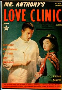 Dr. Anthony's Love Clinic #4 1950-Hillman-intimate-emotional-photo cover-VF-