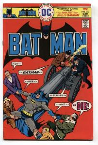 BATMAN #273 comic book-1976-DC VF-