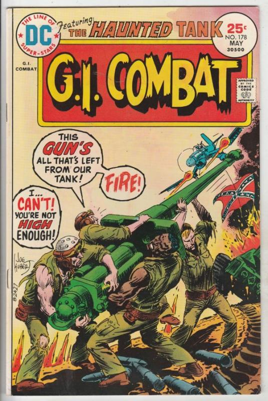 G.I. Combat #178 (May-75) VF/NM High-Grade The Haunted Tank