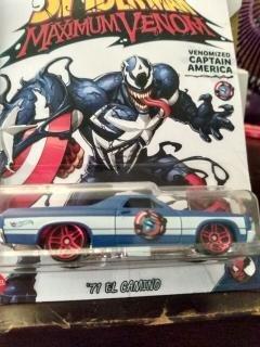 Spider Man Venomnized Captain America