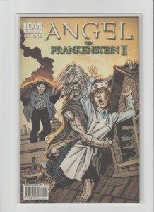 Angel vs. Frankenstein II #1 NM- (2010, IDW Comics) John Byrne Story & Art!!