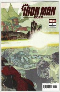 Iron Man 2020 #3 Bianchi Connecting Variant (Marvel, 2020) NM
