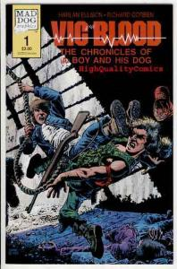 VIC & BLOOD #1, VF, Richard Corben, Harlan Ellison, more indies and RC in st