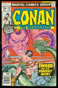 CONAN LOT #89, #96 & #100-MARVEL COMICS-BUSCEMA