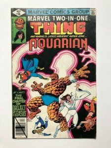 MARVEL Two in one THE THING and AQUARIAN #58 direct edition VG/F (A288)