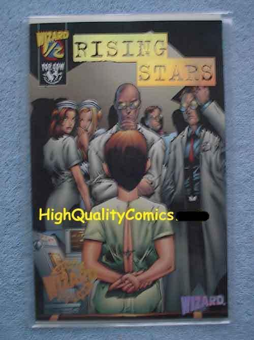 RISING STARS #1/2, Gold foil Edition, NM,  Limited, COA, Mail-away, 2000