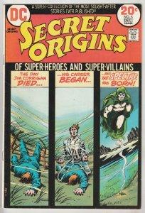 Secret Origins #5 (Dec-73) NM- High-Grade The Spectre