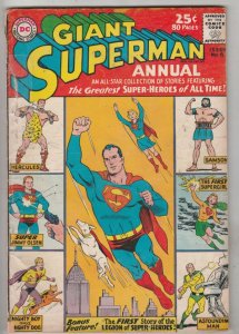 Superman Giant Annual #6 (Dec-62) VG Affordable-Grade Superman, Jimmy Olsen,L...