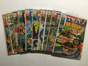 Astonishing Tales 1-25 26-36 Lot Run Set Very Good/Fine To Fine/Very Fine Marvel