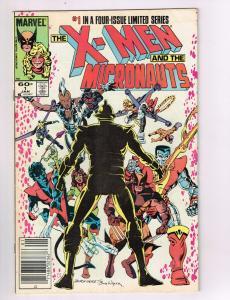 The X-Men & The Micronauts #1 FN/VF Marvel Comics Comic Book Jan 1984 DE42