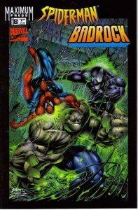 Spider-Man/Badrock #1B FN; Marvel   save on shipping - details inside