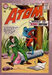 THE ATOM #14 1964- WORLD'S SMALLEST SUPER-HERO GIL KANE VF+