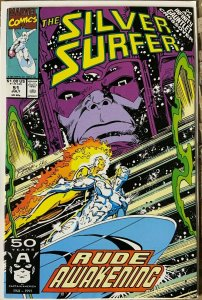 SILVER SURFER #51 (Marvel,7/1991) F-VF (Fine-Very Fine) Galactus!Infinity x-over