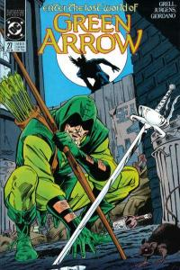 Green Arrow (1988 series) #27, NM- (Stock photo)