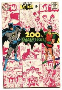 BATMAN #200-comic book-DC-ANNIVERSARY ISSUE - Silver Age VF/NM