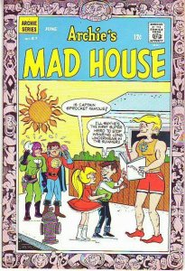 Archie's Mad House #47 (Jun-66) FN/VF Mid-Grade Captain Sprocket