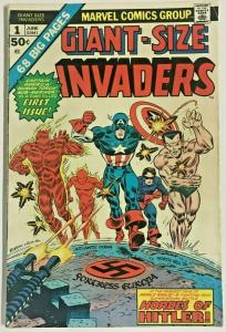 GIANT-SIZE INVADERS#1 FN 1975 MARVEL BRONZE AGE COMICS