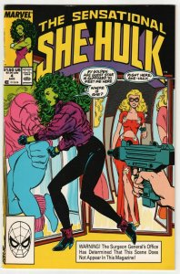 Sensational She-Hulk #4 (Marvel, 1989) VF
