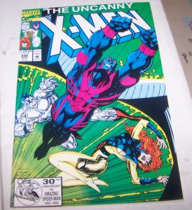 Uncanny X-Men #286  archangel jean gray iceman collossus