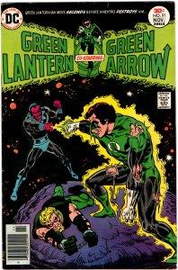 Green Lantern & Green Arrow #91 (1960 v2) Mike Grell Sinestro FN+