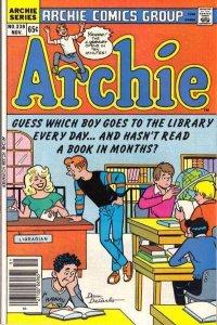 Archie Comics #338, VF+ (Stock photo)