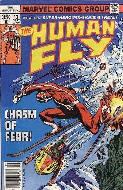 Human Fly (1977 series) #13, VF (Stock photo)