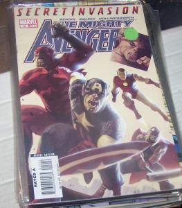 MIGHTY AVENGERS # 12 SECRET INVASION SKRULLS BRIAN BENDIS NICK FURY