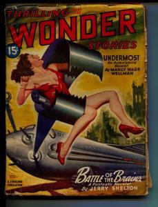 Standard Magazine-Pulp-Spring/1946-Jerry Shelton-Ray Bradbury