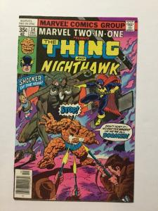 Marvel Two-In-One 34 Nm Near Mint