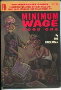 Minimum Wage-Vol 1-Bob Fingerman-1995-PB-VG/FN