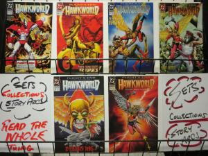 HAWKWORLD (1990) 27-32 Ostrander/DuursamaFlights End