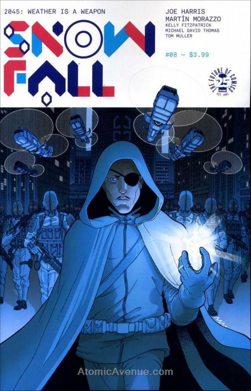 Snowfall #8 VF/NM; IDW | save on shipping - details inside