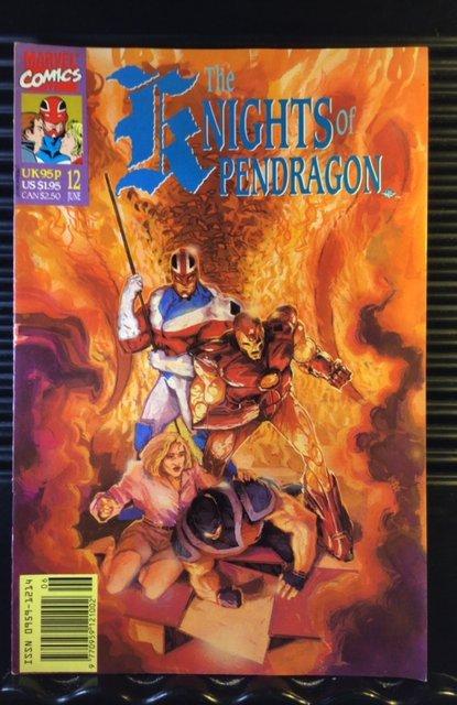 Knights of Pendragon (UK) #12 (1991)