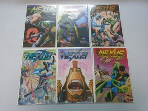 Nexus run #1-6 6.0 FN (1983-84 Capital/First)