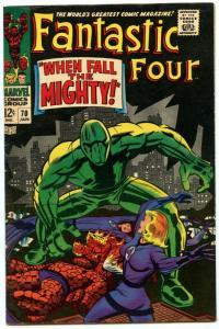 Fantastic Four 70 Jan 1968 VF (8.0)
