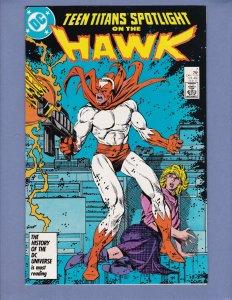 Teen Titans Spotlight #7 NM- Hawk DC 1987