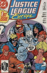 JUSTICE LEAGUE EUROPE 1-68:  25 DIFF