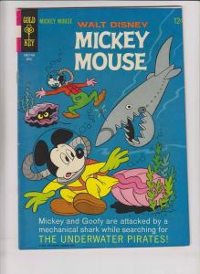 Walt Disney's Mickey Mouse #112 FN+ april 1967 - rare double cover error - goofy