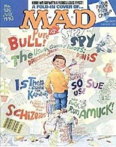 Mad (1952 series) #320, VF (Stock photo)