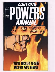 Giant Sized Powers Annual # 1 VF/NM 1st Print Image Comic Book Brian Bendis CH15