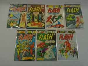Flash lot 7 different 25c covers #231-239 avg 5.0 VG FN (1975-76 1st Series)