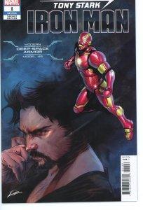 Tony Stark Iron Man 1 Deep Space Armor Variant 9.0 (our highest grade)