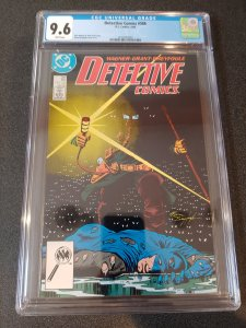 ​DETECTIVE COMICS #586 CGC 9.6 WHITE PAGES