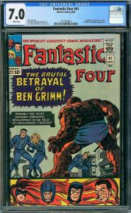 Fantastic Four #41 (Marvel, 1965) CGC 7.0